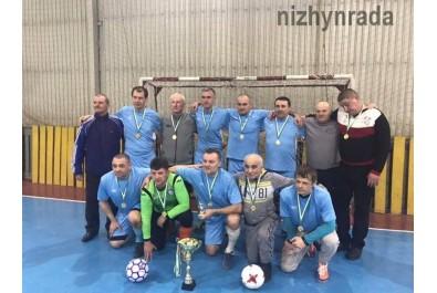 У футбольному турнірі команда Фрунзівець-Ветеран м. Ніжин здобула 1 місце
