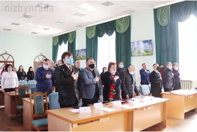 Відбулося чергове пленарне засідання 7 сесії Ніжинської міської ради