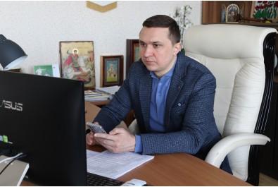 Міський голова Олександр Кодола особисто провів телефонні розмови з керівниками всіх єпархій щодо безпечного проведення  свята Благовіщення