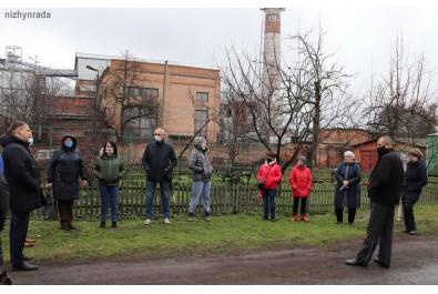 Перший заступник міського голови Федір Вовченко провів зустріч із мешканцями вулиці Прилуцької та Індустріальної