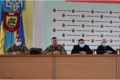 Відбулась нарада щодо проведення навчальних зборів з резервістами та військовозобов'язаними