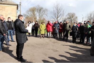 Перший заступник міського голови Федір Вовченко провів зустріч із мешканцями вулиці Богуна
