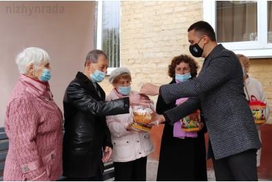 «Великдень в кожен дім» - Олександр Кодола привітав підопічних терцентру з прийдешнім святом Великодня