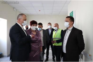 Міський голова Олександр Кодола провів нараду щодо проекту EMERGENCY в міській лікарні