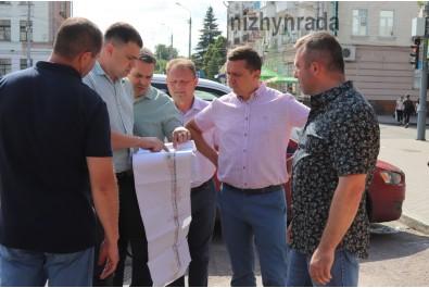 Міський голова Олександр Кодола провів робочу нараду щодо реконструкції вулиці Гоголівська